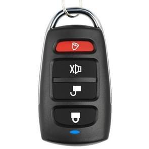 433MHZ Wireless Copy Remote Control Metal Four-button Garage Door Copy Code Remote Contro