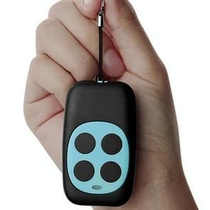 Colorful Four-Key Copying Remote Garage Door Gate Wireless Remote Control 433MHZ Copy Key Cloning Duplicator(Blue)
