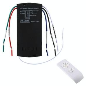 Universal Ceiling Fan Lamp Remote Control Kit 85-265V Timing Wireless Control Switch Adjusted Wind Speed Transmitter Receiver