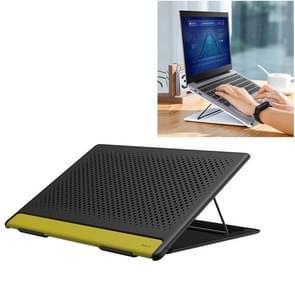 Baseus Lets go opvouwbare holle mesh design laptop stand houder (zwart)