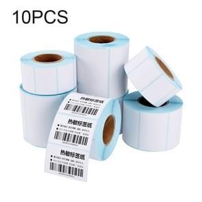 10 PCS 40x20x1500mm Zelfklevende Thermische Barcode Label Paper