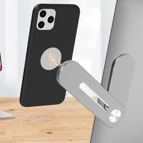 Universele stickable aluminium legering laptop uitbreiding beugel magnetische zuigkracht mobiele telefoon beugel