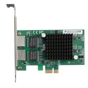 TXA020 Intel 82575 Dual RJ45-poorten NIC 10/100/1000 Gigabit PCI Express PCIE x1-netwerkkaartadapter