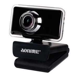 aoni C11 720P 150-graden Groothoek handmatige Focus HD-computercamera met microfoon