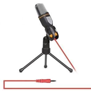 Yanmai SF666 Professional geluid opname condensatormicrofoon met statief houder  kabellengte: 1.3 m  compatibel met PC en Mac voor Live uitgezonden Show  KTV  etc.(Black)