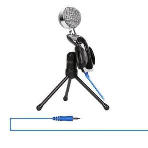 Yanmai SF-922 Professional geluid opname condensatormicrofoon met statief houder  kabellengte: 2.0 m  compatibel met PC en Mac voor Live uitgezonden Show  KTV  etc.