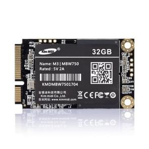 Kim MiDi  MBW750 3.8mm 1.8 inch mSATA Solid State Drive, Flash Architecture: MLC, Capacity: 32GB