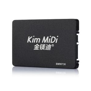 Kim MiDi  BMW730 7mm 2.5 inch SATA3 Solid State Drive, Flash Architecture: MLC, Capacity: 120GB