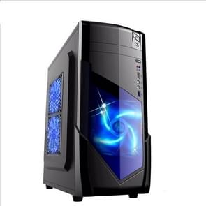 1728 USB 3.0 Main Chassis 440x180x480mm Micro-ATX / ATX PC PC Desktop Game Computer Case(Black)