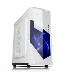 1728 USB 3.0 Main Chassis 440x180x480mm Micro-ATX / ATX PC PC Desktop Game Computer Case(White)