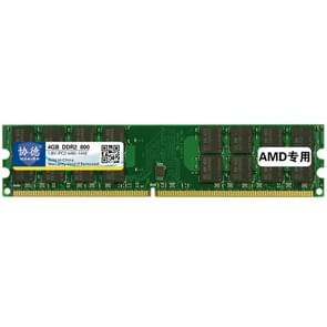 XIEDE X 021 DDR2 800MHz 4GB algemene AMD speciale Strip geheugen RAM-Module voor Desktop-PC