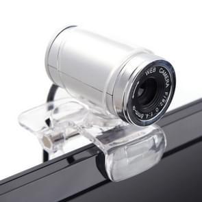 HXSJ A860 30fps 12 Megapixel 480P HD webcam voor desktop/laptop  met 10m geluidsabsorberende microfoon  lengte: 1.4 m (grijs)
