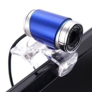 HXSJ A860 30fps 12 Megapixel 480P HD Webcam for Desktop / Laptop, with 10m Sound Absorbing Microphone, Length: 1.4m(Blue)