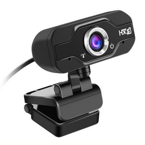 HXSJ S50 30fps 100 Megapixel 720P HD Webcam for Desktop / Laptop / Smart TV, with 10m Sound Absorbing Microphone, Length: 1.4m