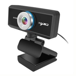 HXSJ S90 30fps 1 Megapixel 720P HD Webcam for Desktop / Laptop / Android TV, with 8m Sound Absorbing Microphone, Length: 1.5m