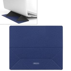 NILLKIN ZN001 Ascent Stand Folding Computer Heat Dissipation Bracket, Size: 24.5x24x0.22cm (Blue)
