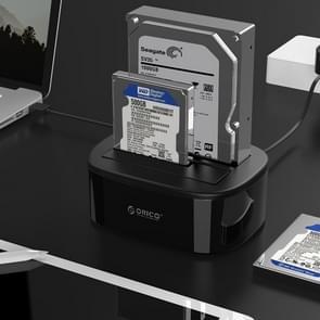ORICO 6228US3 2.5 / 3.5 inch SATA HDD / SSD 2 Bay USB 3.0 Hard Drive Dock