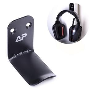 Universal Headphone Aluminum Alloy Hook(Black)