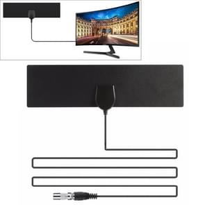 25 Miles Range 28dBi High Gain Amplified Digital HDTV Indoor Outdoor TV Antenna with 3.7m Coaxial Cable & IEC Adapter
