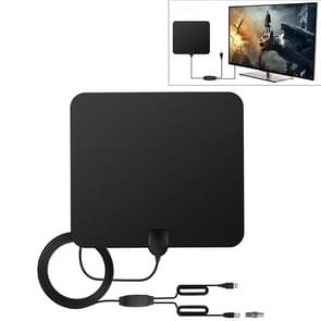 DVB-T2 ATSC 50 Miles Range 28dBi HD Digital Indoor Outdoor TV Antenna with 4m Coaxial Cable