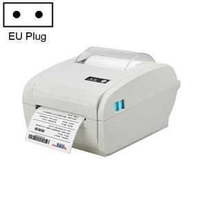 POS-9210 110mm USB POS Ontvangst Thermisch Printer Express Levering Barcode Label Printer  EU Plug(White)
