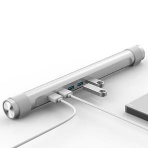 ORICO M4U3 Laptop Stand USB 3.0 HUB met 1m scheiden gegevens Cable(Silver)
