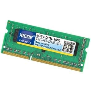 XIEDE 1.35V laag Voltage DDR3L 1600 4 G 12800 frequentie RAM-geheugenmodule voor Laptop