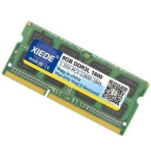 XIEDE 1.35V laag Voltage DDR3L 1600 8 G geheugen RAM Module Double Sided deeltjes voor Laptop