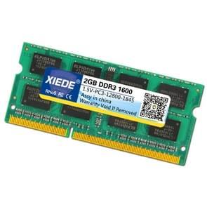 XIEDE DDR3 1600 2 G 12800 frequentie geheugen RAM Module Double Sided deeltjes voor Laptop