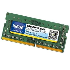 XIEDE DDR4 2666MHz 2667MHz 4GB PC4 Memory RAM Module for Laptop