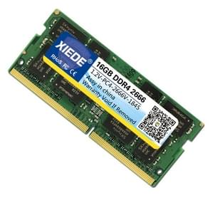 XIEDE Hynix Chip DDR4 2666MHz 2667MHz 16GB Memory RAM Module for Laptop