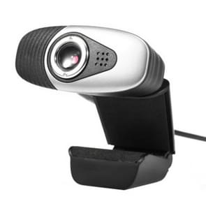 A871 12.0MP HD Webcam USB Plug Computer Web Camera with Sound Absorption Microphone, Cable Length: 1.4m(Grey)
