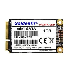 Goldenfir 1.8 inch mSATA Solid State Drive, Flash Architecture: TLC, Capacity: 1TB