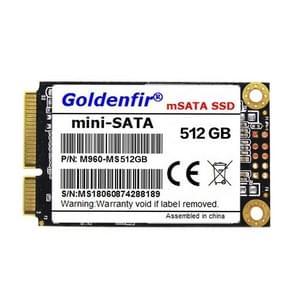 Goldenfir 1.8 inch Mini SATA Solid State Drive, Flash Architecture: TLC, Capacity: 512GB