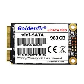 Goldenfir 1.8 inch Mini SATA Solid State Drive, Flash Architecture: TLC, Capacity: 960GB