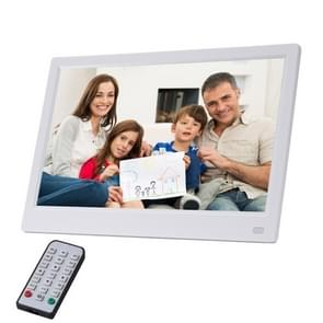 11 6 inch FHD LED display Digitale fotolijstjes met houder & afstandsbediening  MSTAR V56 programma  ondersteuning USB/SD-kaart ingang (wit)
