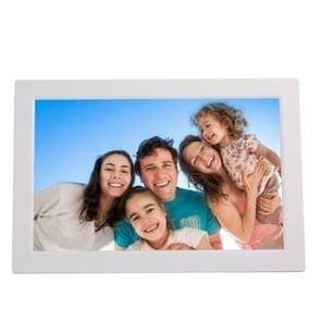 13 inch High-definition Digital Photo Frame Electronic Photo Frame Showcase Display Video Advertising Machine(White)