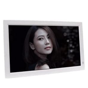 21.5 inch IPS Digital Photo Frame Electronic Photo Frame Advertising Machine Support 1080P HDMI(White)
