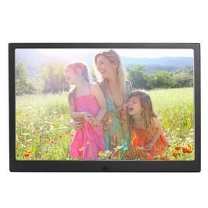 HSD1202 12.1 inch 1280 x 800 hoge resolutie Display Digital Photo Frame met houder en afstandsbediening  ondersteuning voor SD / MMC / MS Card / USB-poort