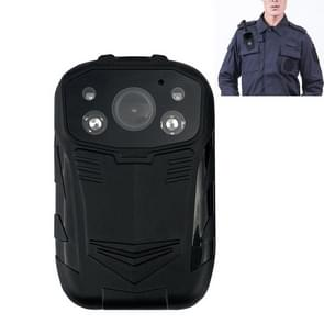 C82 Portable 1080P HD Field Recorder met 2 0 inch Display & Epaulette Back Clip  Support Infrared Night Vision & Red and Blue Light Knippert & Gesegmenteerde Recording & Loop Recording & Motion Detection(Black)