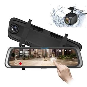 HAMTOD HG91 9.88 inch 170 Degrees Wide Angle HD Dual Mirror Dash Video Car DVR