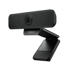 Logitech C925E 1080p HD webcam met geïntegreerde beveiliging cover (zwart)