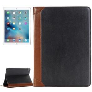 Boek stijl gepolijst oppervlak horizontale Flip lederen draagtas met houder & kaartsleuven & portemonnee voor iPad Pro 9 7 inch (grijs)
