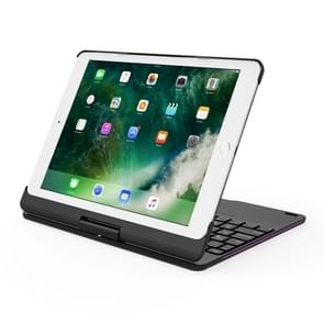 BlueFinger F180 360-Degrees Rotating Bluetooth Keyboard with Colorful Backlight, for iPad 9.7 inch (2017) /  iPad Pro 9.7 inch / iPad Air 2 / iPad Air(Black)