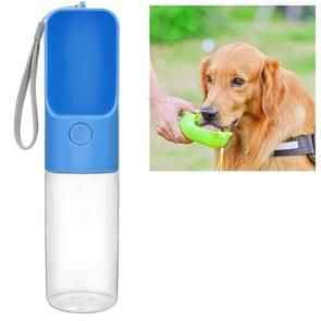 Huisdier buiten begeleidende Cup hond go out Cup Pet Supplies (blauw)