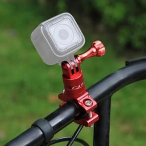 [UAE voorraad] PULUZ 360 graden rotatie fiets aluminium stuur adapter mount met schroef voor GoPro HERO8 zwart/Max/HERO7  DJI OSMO actie  Xiaoyi en andere Actiecamera's