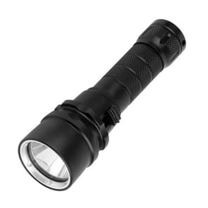 PULUZ 1000LM Aluminum Alloy 50m Depth Diving LED Flashlight Cold White Light Torch Light