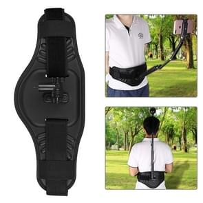 PULUZ Waist Belt Mount Strap  for GoPro Fusion, DJI  OSMO Pocket, Insta360 ONE X, Ricoh Theta S/Theta V/Theta SC36  and Other Panorama Action Cameras