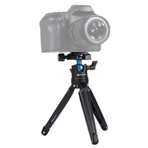 [UAE voorraad] PULUZ Pocket Mini metalen Desktop statief mount met 360 graden bal hoofd voor DSLR & digitale camera's  verstelbare hoogte: 11-21cm
