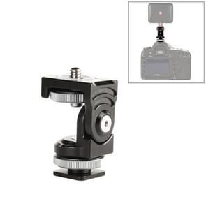 PULUZ Panorama Damping Two-dimensional Hot Shoe Head Multi-function Bracket